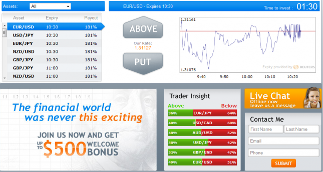 Binary options buddy forum