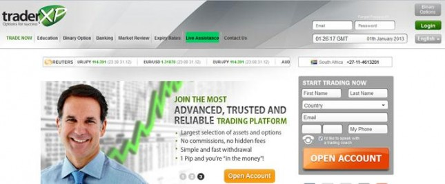 traderxp binary options review
