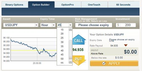 Optionbuilder