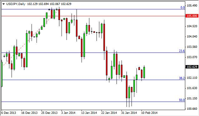 USD/JPY Forecast February 12, 2014, Technical Analysis