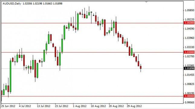 AUD/USD Forecast September 6, 2012, Technical Analysis