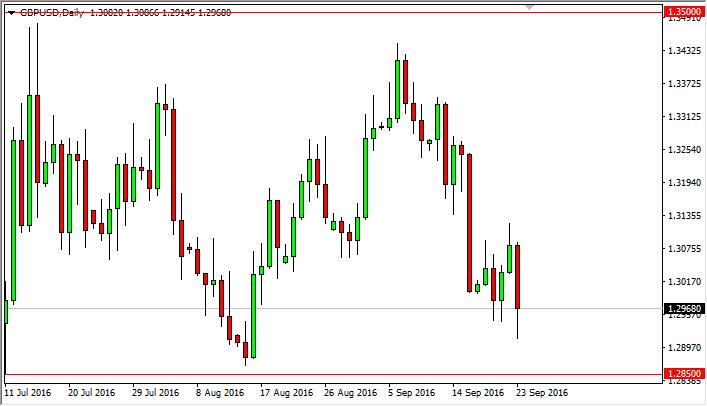 GBP/USD Forecast September 26, 2016, Technical Analysis
